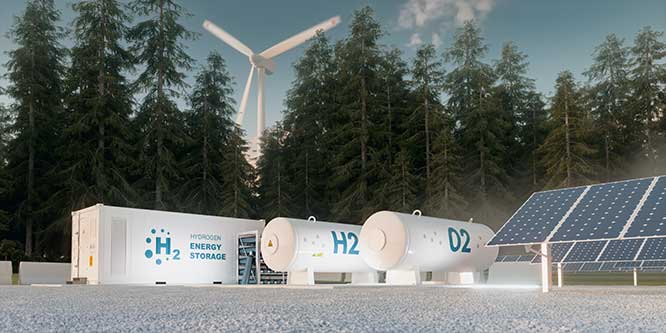 microgrid power sources of wind, solar, and energy storage